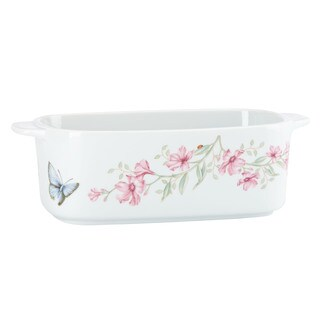 Lenox Butterfly Meadow Ceramic Rectangular Baker