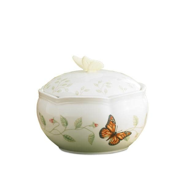 Shop Lenox Butterfly Meadow Covered Box Free Shipping On