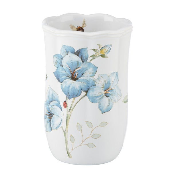 Shop Lenox Butterfly Meadow Blue Tumbler Free Shipping