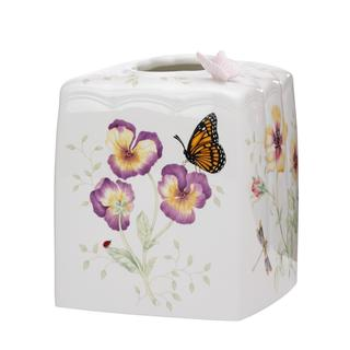 Shop Lenox Butterfly Meadow Tissue Holder Free Shipping