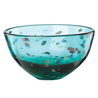 Lenox 70s Collection Blue Crystal 7-inch Bowl