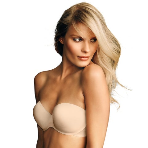 Maidenform Women's Live in Luxe Latte Lift Extra Coverage Strapless Multiway Bra