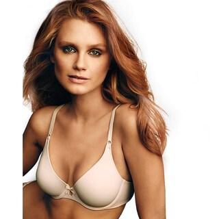 Maidenform Women's One Fab Fit Paris Nude/Ivory No-slip Strap Tailored Demi Bra