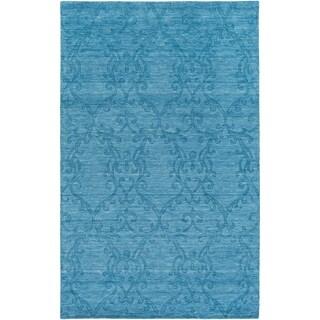 Hand-Crafted Idaho Wool Rug (8' x 11')
