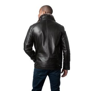 Mason & Cooper Men's Brayden Leather Jacket