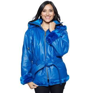 Wilda Leather Women's Hanna Leather Coat|https://ak1.ostkcdn.com/images/products/12152402/P19006512.jpg?impolicy=medium