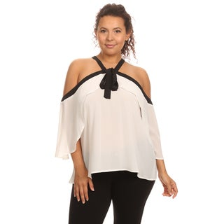 Hadari Plus Size Sleeveless hulter top