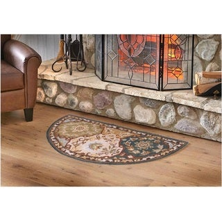 Hand-Tufted Coliseum Wool Rug (2' x 4' Hearth)