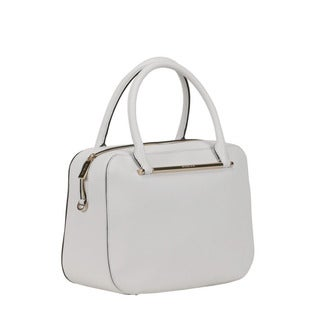 Michael Kors Optic White Large Jessica Satchel Handbag