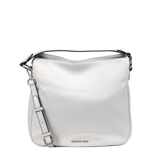 Michael Kors Optic White Medium Heidi Convertible Shoulder Handbag