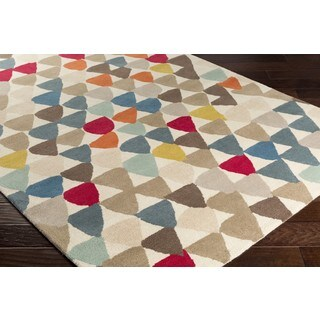 Strick & Bolton Annie Playful Hand-tufted New Zealand Wool Area Rug