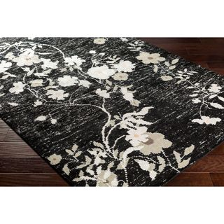 Hand Knotted Internacional Recycled Silk/Cotton Rug (2' x 3')