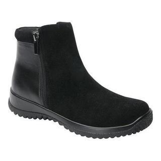 Women's Drew Kool Ankle Boot Black Suede