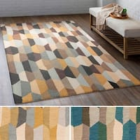 Hand Tufted Lankershim Wool Area Rug - 8' x 10'
