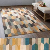 Hand Tufted Lankershim Wool Area Rug (8' x 10')