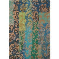 Hand Knotted Long New Zealand Wool Area Rug (5'7 x 7'10)