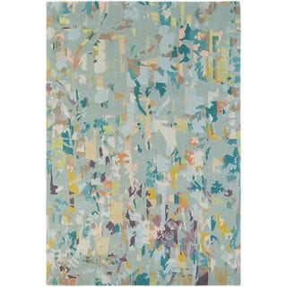 Hand Knotted Madre New Zealand Wool Rug (5'7 x 7'10)