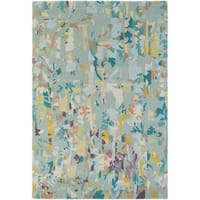 Hand Knotted Madre New Zealand Wool Area Rug (5'7 x 7'10)