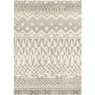 Hand Knotted Malulani New Zealand Wool Rug (4'7 x 6'7)