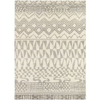Hand Knotted Malulani New Zealand Wool Rug (6'7 x 9'10)
