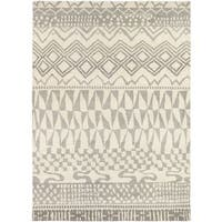 Hand Knotted Malulani New Zealand Wool Area Rug (5'7 x 7'10) - 5'7 x 7'10