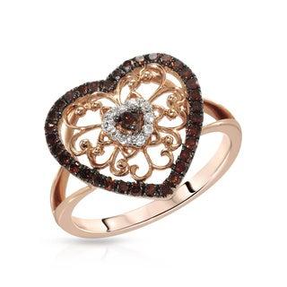 Fay Pay Jewels 14k Gold 2/5ct TGW Diamond Ring (Size 7)