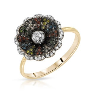Fay Pay Jewels 14k Gold 3/8ct TGW Diamond Ring (Size 7)