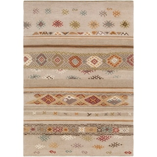 "Hand Knotted Mercer New Zealand Wool Area Rug - 5'7"" x 7'10"""
