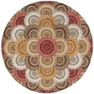 Nourison 2000 Multicolor Area Rug (8' Round)