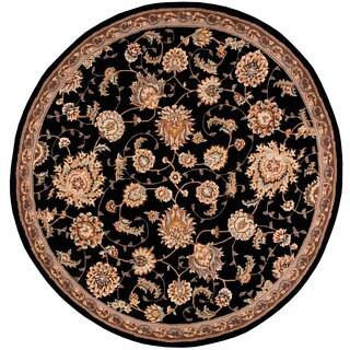 Nourison 2000 Black Area Rug (6' Round)