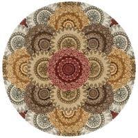 Nourison 2000 Multicolor Area Rug (6' Round)