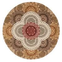 Nourison 2000 Multicolor Area Rug (4' Round)