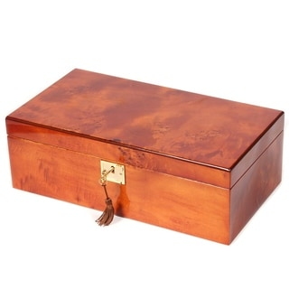 Gun/Knife Mapa Burl Solid Lid Collector Box