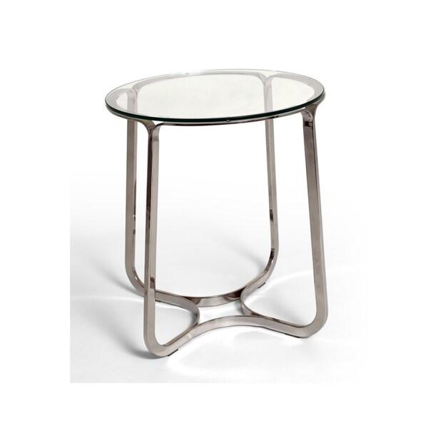 Bellini Modern Living Blake Glass End Table