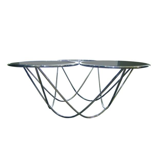 Bellini Modern Living Demi Glass Coffee Table