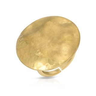 Adami & Martucci Goldplated Silver Size 7.5 Ring
