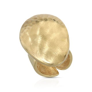 Adami and Martucci Goldplated Silver Size 6 Ring
