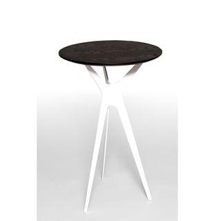 Evolve Walnut Round Side Table