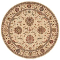 Nourison Living Treasures Ivory Area Rug - 7'10 Round