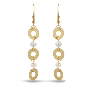 Fay Pay Jewels 14k Gold Freshwater Pearl Earrings