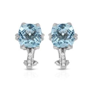 Fay Pay Jewels 10k Gold 7.92-carat Topaz Earrings