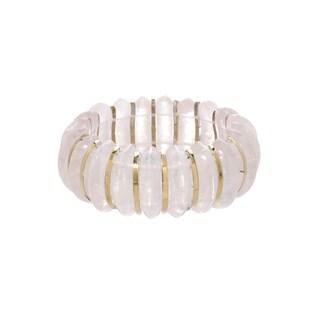 Fay Pay Jewels 14k Gold 477.58-carat Total Weight Quartz Bracelet