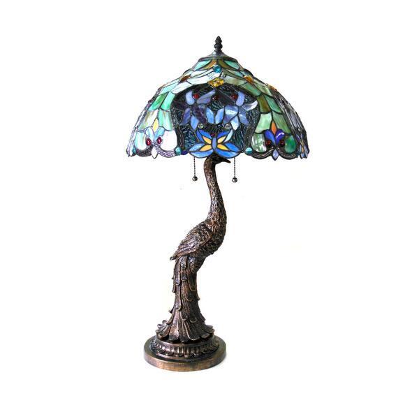 Tiffany Style Victorian Design 2 Light