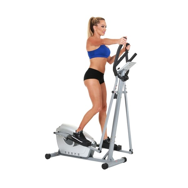 Sunny Health & Fitness SF-E3607 Magnetic Elliptical Bike