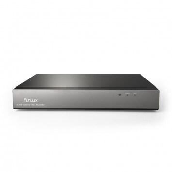 Funlux 8 Channel 720p HD 1-terabyte Hard Drive Network Video Recorder