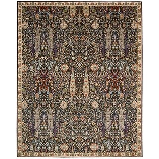 Nourison Timeless Navy Area Rug (5'6 x 8')