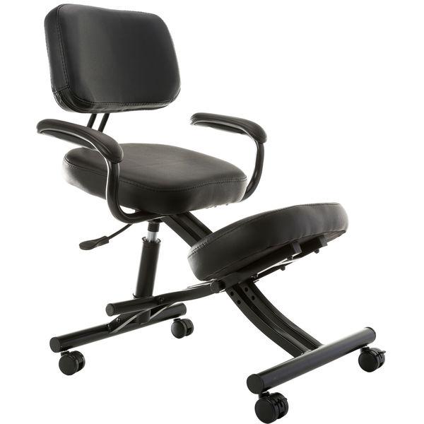 Sierra Comfort Ergonomic Kneeling Office Chair  sc 1 st  Overstock.com & Shop Sierra Comfort Ergonomic Kneeling Office Chair - Free Shipping ...
