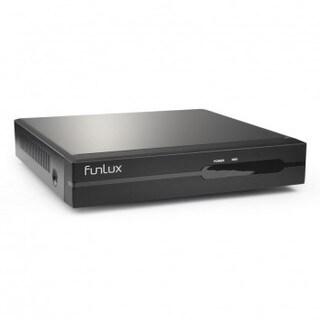 Funlux 4-channel 720p HD Network Video Recorder with 1TB Hard Drive