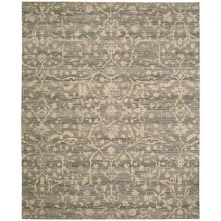 Nourison Silk Elements Taupe Area Rug (2'3 x 3')