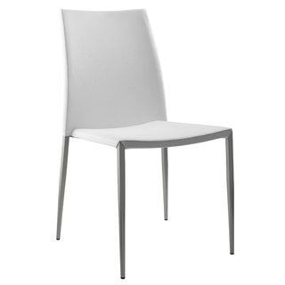 Sandra White Dining Chair